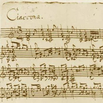 Sonates et partitas pour violon de bach 1